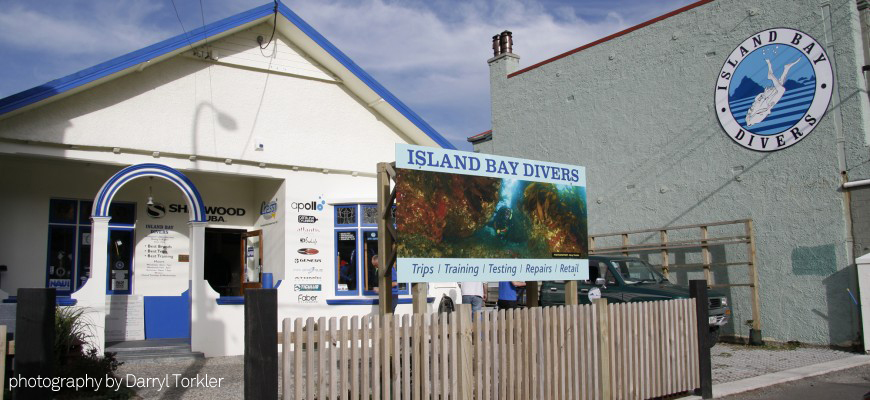 island bay divers dive shop